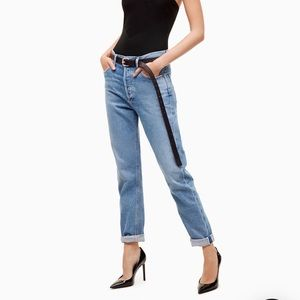 Talula X Agolde High Rise Ankle Jeans